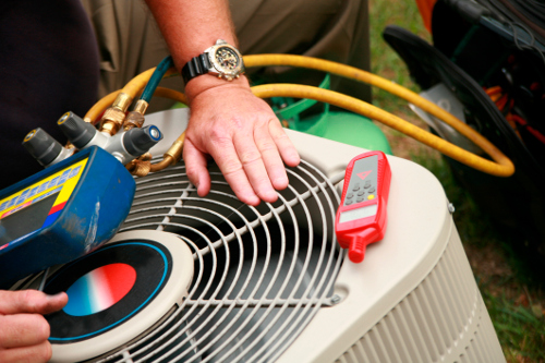 Air Conditioner Installation with a Professional