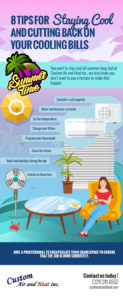 8 Tips for Staying Cool and Cutting Back on Your Cooling Bills